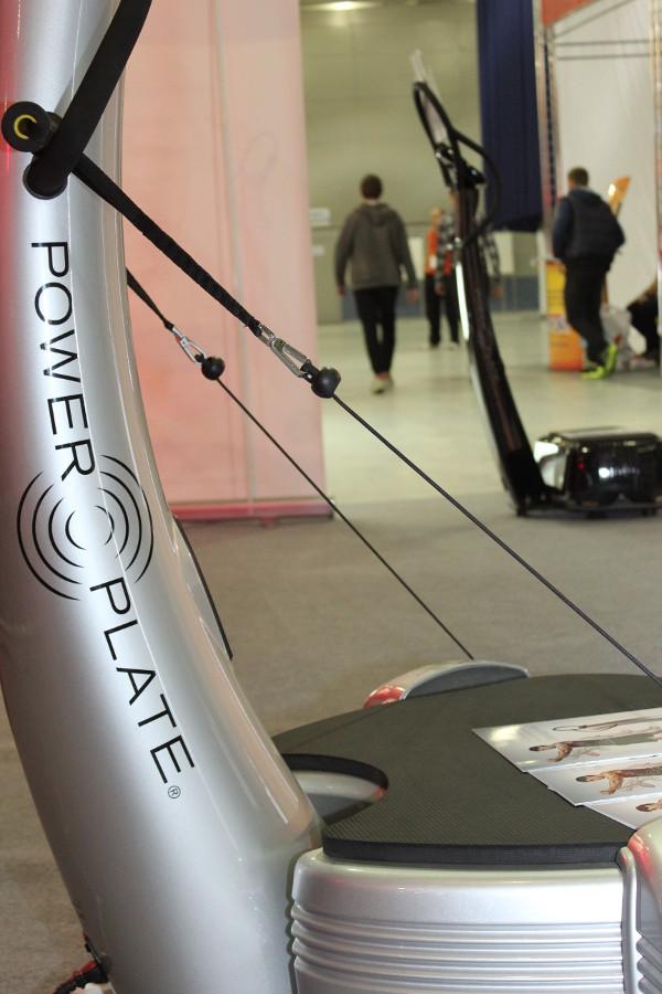 Power Plate на выставке фитнеса MIOFF2014!