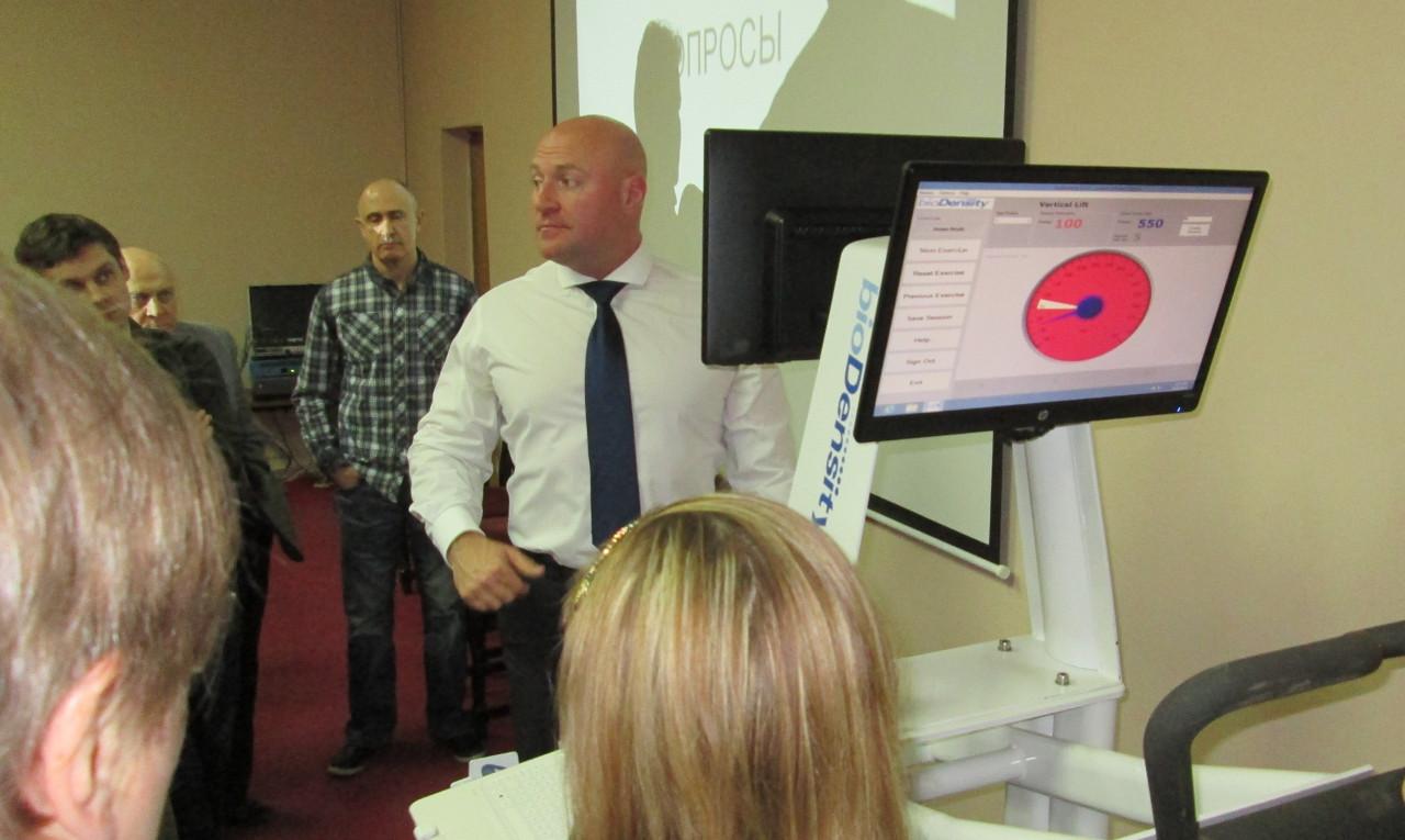 Медицинское оборудование bioDensity впервые представлено в России