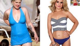 Как Келли Осборн скорректировала вес?